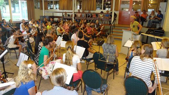 orkest repetitie
